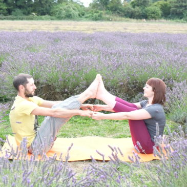 A taste of Summer Yoga with Anita….. in Croydon's great outdoors